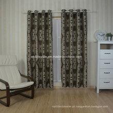 Fiado típico bordado tingido como cortina jacquard