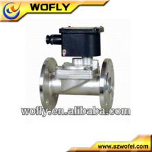 Válvula solenóide pneumática de 2 vias de atuação direta