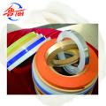 Bandas de borde de PVC color sólido