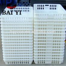 Matériel d'élevage de volaille en plastique grand poulailler / cage de transport