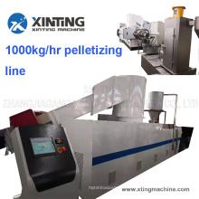 Single Screw Plastic Pelletizing Extruder/ PP PE Granules Machine
