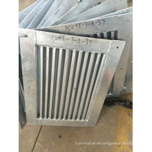 OEM Metal Fabrication and Welding Parts for Building Elevator Door