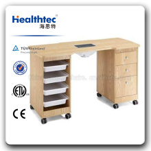 2015 High Quality Glass Manicure Table (WT3461-B-D)