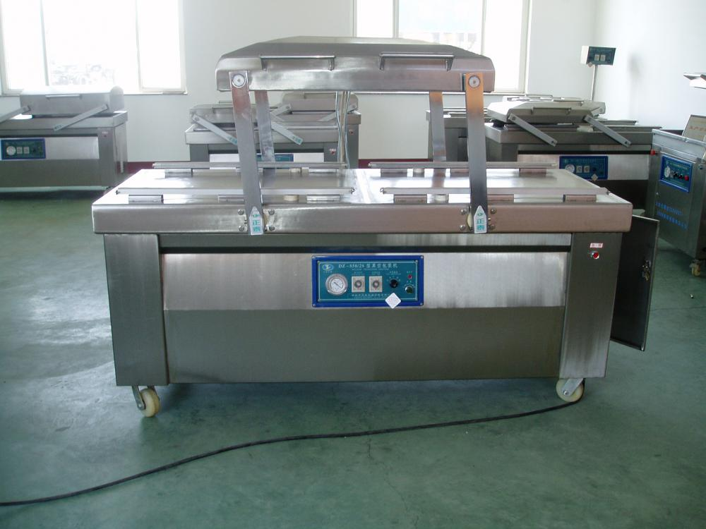 Double Chamber Rice Mesin Packaging