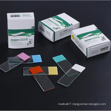 Medical Prepared Disposable Microscope Glass Slides for Laboratory Use