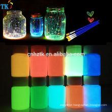 Photoluminescent Pigment powder Glow in dark pigment for Road paint