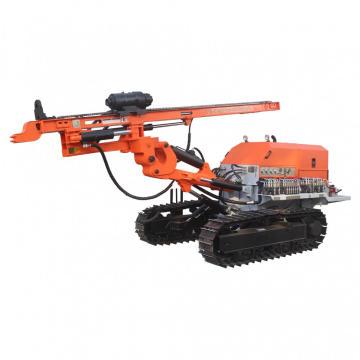 Ancorar equipamento de perfuração de pregos para solo rochoso