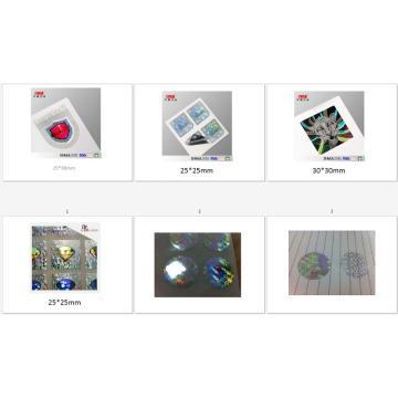 hologram sticker mannufacturer China