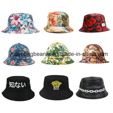 100% Algodão Moda Outdoor Fishman Bucket Hat