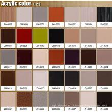 Projetos de porta de gabinete com alças e faixas de borda de PVC (personalizado)