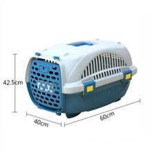 Cat and dog box for travel large portable air-breathable check-in portable air pet crate
