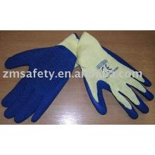 10G Cotton Latex Coated Flex Grip Gloves