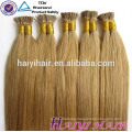 Wholesale Price Remy Italian Keratin Double Drawn Pre Bonded Hair Extension