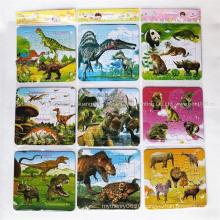 Custom OEM Landscape Image Children Educational Paper Cardboard Jigsaw Puzzle