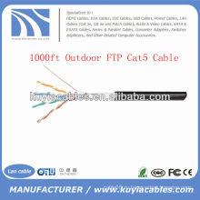 1000FT 4pairs Открытый Cat5 Массовая сеть FTP Провод
