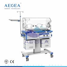 AG-IIR001C sistema de temperatura controlada hospital equipo médico cuidado de bebés incubadoras neonatales fabricantes