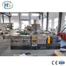 Venta caliente de alta calidad paralelo co-giratorio pelletizing extrusora doble husillo