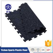 tapis de sol sport en caoutchouc utilisé raquette de badminton