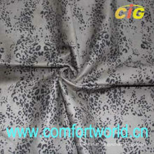 Imprimindo tecido de camurça com imitação de veludo de apoio