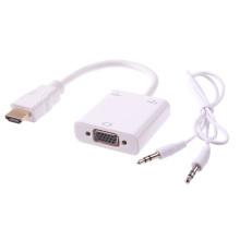 Поддержка 1080 P аудио + микро USB зарядное устройство HDMI адаптер VGA + аудио