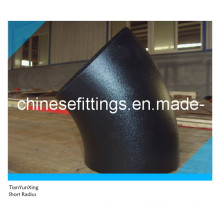 45 Degree Short Radius Carbon Steel Seamless Elbow