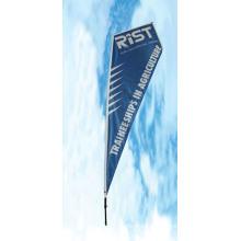 Im Freienfahne für Fliege-Werbungs-Fahne