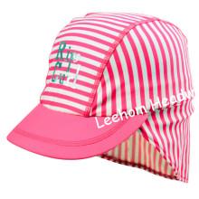 Swimming Fashion Spandex Striped Cap