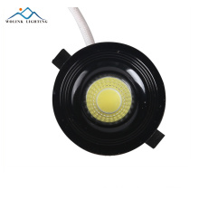 High lumens round COB dimmable surface mounted trimless LED Spot Light