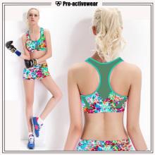 OEM Service Private Label Atacado Yoga Set Mulheres Sports Shorts