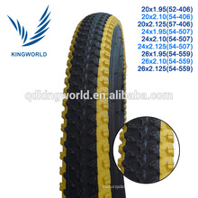Colourful mountain bicycle tire export to south america