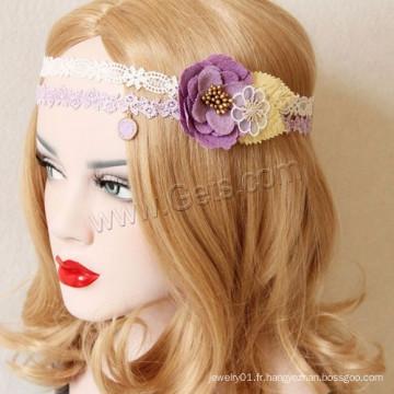 Gets.com Fournisseur de bijoux Light Purple Hairband Girl Fashion