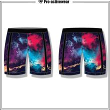 Fábrica de ropa deportiva Fitness Ejercicio Algodón Shorts