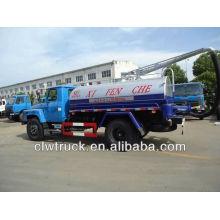 Dongfeng 140 фекальный всасывающий грузовик (6 м3)