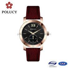 OEM haute qualité Lady Watch lumineux avec couleur or Rose