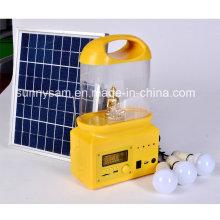 Wiederaufladbare LED Solar Camping Laterne für den Außenbereich