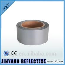 cinta de precaución plata reflectante 100% poliéster