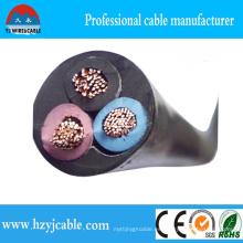 Rvv Cable PVC Coquilla Pure Copper Conductor