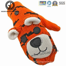 Kids Children Animals Tiger Custom Winter Warm Gloves