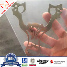 High Quality Titanium Slingshot with Bright surface