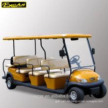 Carro de golf de 11 pasajeros carro signtseeing eléctrico barato, autobús de lanzadera eléctrico