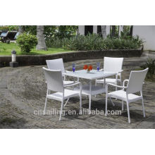 Hot sale Outdoor All Weather coffee table and chair set
