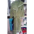 Hochwertiger Plain Fleece Bademantel für Mann und Frau / Pyjamas