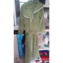 High Quality Plain Fleece Bathrobe for Man and Woman / Pajamas