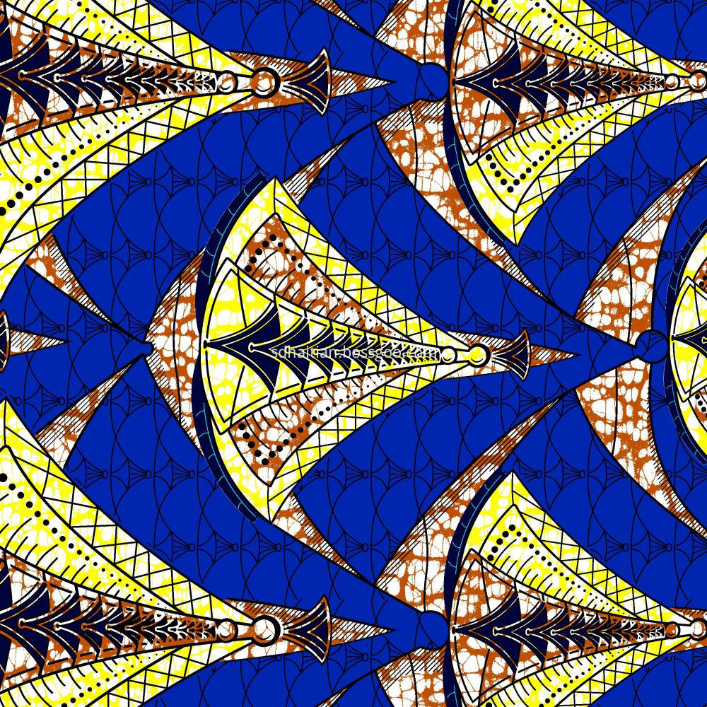 New Design Wax Fabric