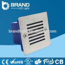 IP65 Exterior Outdoor Recessed LED Wall Light Recessed LED Step Light