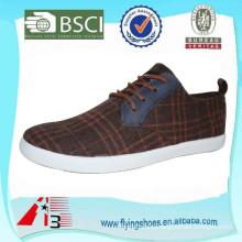 factory OEM canvas cheap men shoes
