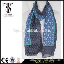 lightweight long fashion cotton lady scarf perfect gift for girls