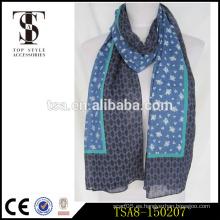 Ligero de moda de algodón de moda bufanda dama regalo perfecto para las niñas