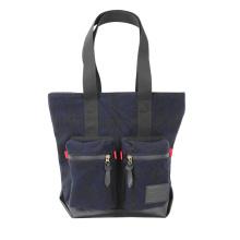 TOURBON vintage weekender Unisex Melton Tweed Tote Bag