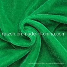 100% Polyester Super Poly Fabric/ Golden Velvet/Tricot Brushed Velvet